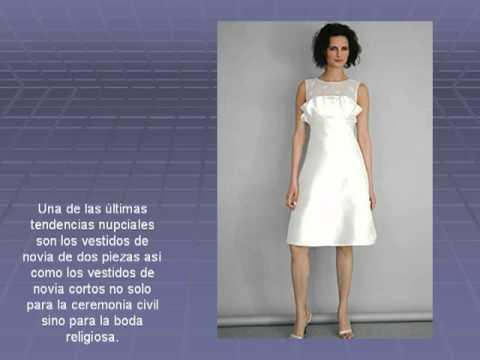 Vestidos de novia sencillos cortos para gorditas