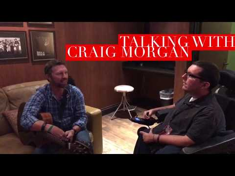 Backstage with Craig Morgan at the Grand Ole Opry