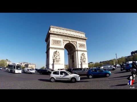 2015 - Travel Paris France Trip - Arc de Triomphe Tour Montparnasse