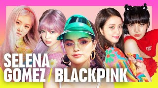 NEW INTERVIEW: Selena Gomez and BLACKPINK answer the most random questions! | Radio Disney