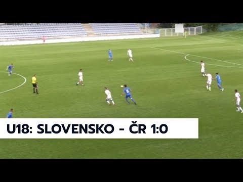 Finále Slovakia Cupu 2018: Slovensko U18 - ČR U18 1:0