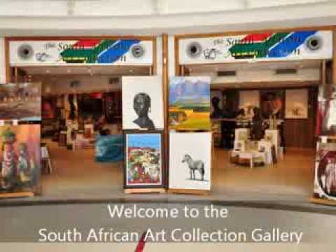 South African Art Collection Gallery - Clock Tower, V&A Waterfront Cape Town