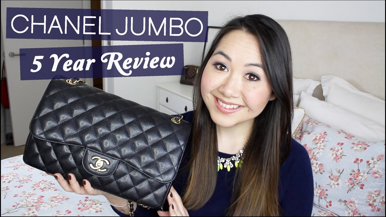 188e094c2867 Chanel Jumbo 5 Year Review: Wear & Tear, Price Increases etc! - YouTube