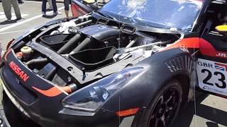 FIA GT1選手権チャンピオンマシンGT-Rエンジン音