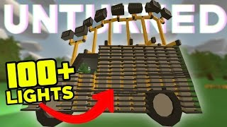 The Brightest Car In Unturned | Unturned PVP |