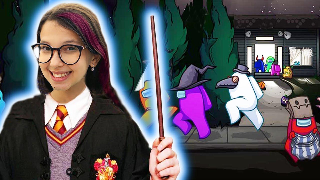 Harry Potter IMPOSTOR Atacou NOVAMENTE no AMONG US (Among Us) | Luluca Games