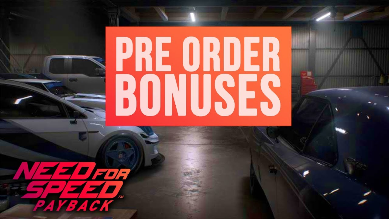 need for speed payback platinum cars pack dlc deluxe. Black Bedroom Furniture Sets. Home Design Ideas