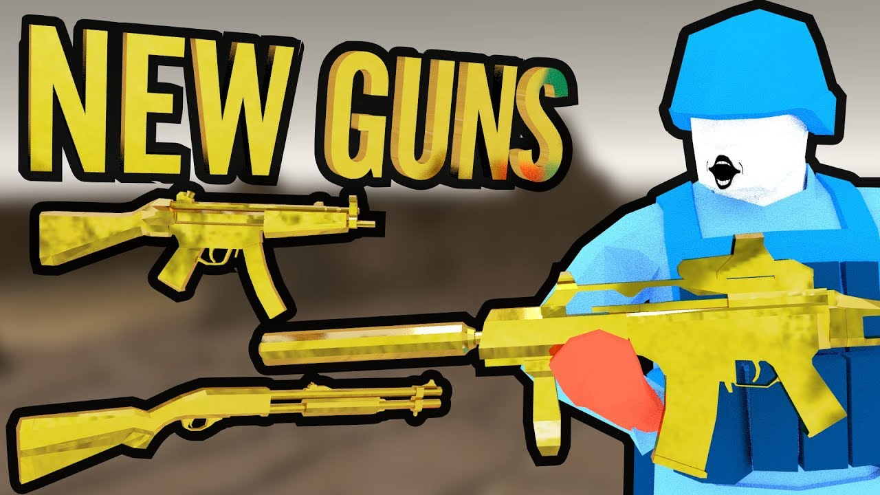 RAVENFIELD NEW WEAPONS | MP5 G36 R870 MODERN GUNS MOD | Ravenfield Build 3  Gameplay by iwanPlays