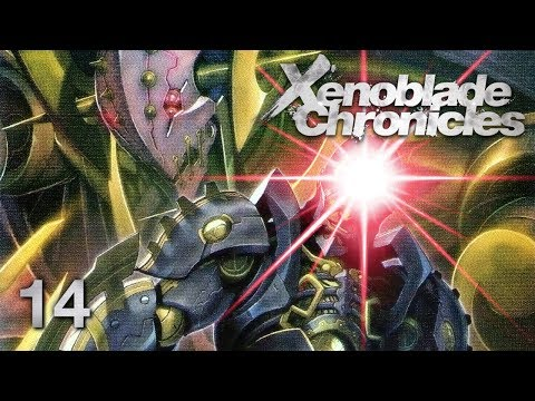 METAL FACE - Let's Play - Xenoblade Chronicles - 14 - Walkthrough Playthrough