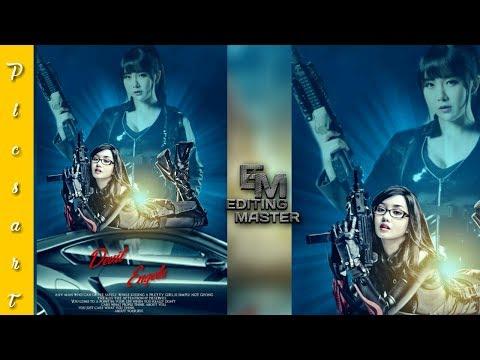 Devil Engels movie poster making by picsart+Picsart editing tutorials +editing master
