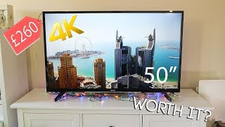 Are Cheap 4K TV's Worth Buying ? - Hitachi 50 Inch 4K Ultra HD Smart TV Review