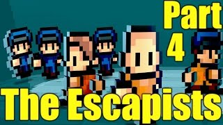The Escapists Gameplay Playthrough Part 4 - BUSTED (PC)