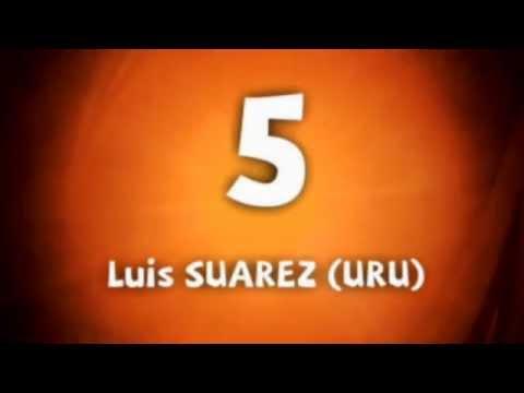 Los 10 mejores goles del Mundial Sudafrica 2010 segun FiFa ( Video Oficial FIFA )