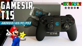GameSir T1S Gamepad Para Android/iOS/PC/PS3 Review + Sorteo INTERNACIONAL!!!(Cerrado)