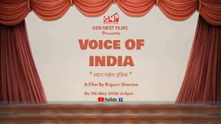 ध्यान रखेगा इंडिया ,Voice Of India, India Fights Against Corona, Releasing on 9th May 2020 at 6pm