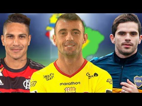 Jugadores mejores pagados en Sudamerica