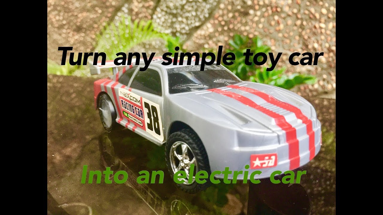 Turn any simple toy car into an electric car |DIY