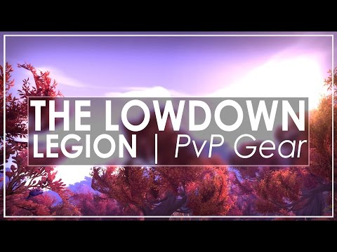 WoW Legion: PvP vs PvE Gear Explained & The Return of RNG