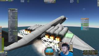 Kerbal Space Program - My First 100% Stock SSTO - Live (04/23/2017)