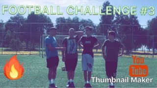 Football Challenge!??{3}|THE EAGLES