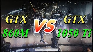 Nvidia GTX 860M vs GTX 1050 Ti (Laptop) - Theje