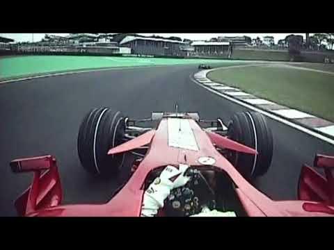 Massa On Board - Grand Prix Brazil F1 2007