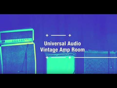 Vintage Amp Room Démo Guitare Obsession