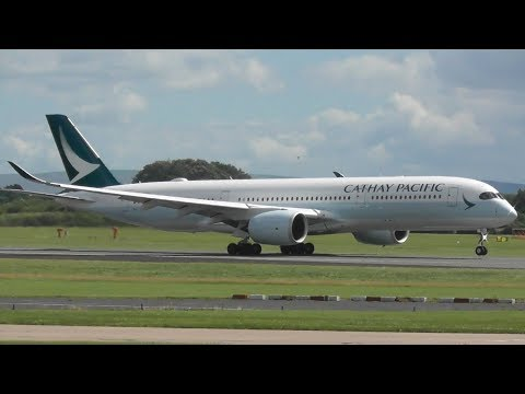 Summer Plane Spotting at Manchester Airport, RW23R Landings & Take offs