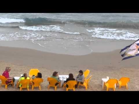 شاطئ البحر الابيض المتوسط# يافا تل أبيب