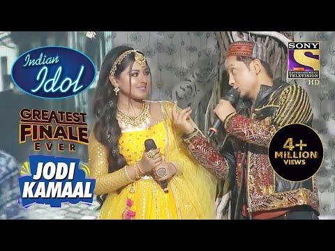 """Main Ban Ki Chidiya"" पे Arunita और Pawandeep का Cute Performance   Indian Idol   Jodi Kamaal"