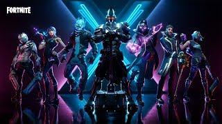 *NEW* SEASON X BATTLE PASS & SKINS!! (Fortnite Battle Royale)