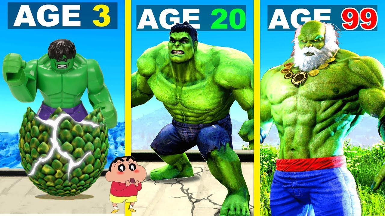 Shinchan Surviving 99 YEARS As HULK In GTA 5 ...