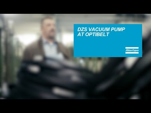 Optibelt trust the DZS claw vacuum pump in the production process