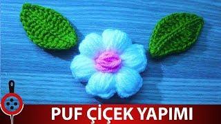 Lif Modelleri - Puf Lif Çiçeği Yapımı