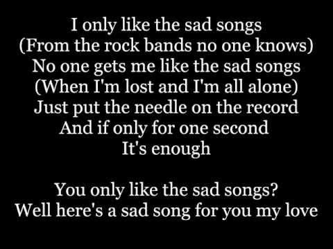 The Maine - Sad Songs Lyrics
