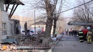 Спасение кота на взрыве газа в Красноярске