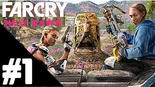 Far Cry: New Dawn Walkthrough Gameplay Part 1 – PS4 PRO 1080p Full HD – No Commentary