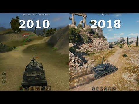 World of Tanks ⚡️ Graphics Evolution 2010 – 2018