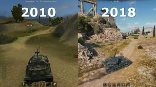 World of Tanks ⚡️ Graphics Evolution 2010 - 2018