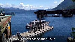 BC Salmon Farmers Association Tour at Hardwicke Island Farm - BCSSF 2017 [Travelling Foodie]