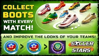 Soccer Starst Gameplay All Stadiums Brazil To Netherlands (Golden Robot Team).