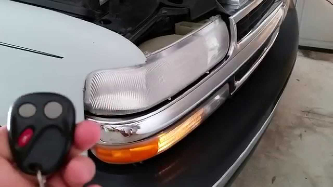 2006 Gm Chevrolet Tahoe Suv Testing Key Fob After Changing Battery Parking Lights Flashing