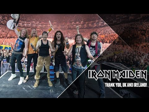 Iron Maiden - Thank You UK & Ireland!