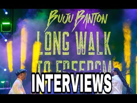 CELEBRITY INTERVIEWS @ BUJU BANTON LONG WALK TO FREEDOM CONCERT