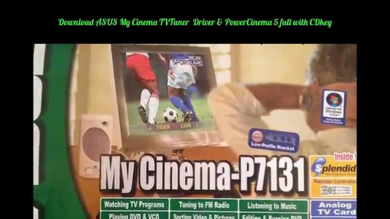 DRIVER UPDATE: ASUS MY CINEMA-P7131 TV-TUNERS