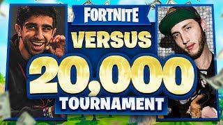 VIKKSTAR & NOAHJ456 vs FAZE BANKS & YELO in Fortnite $20,000 Tournament