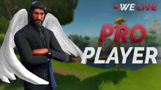 [HANDCAM!] Pro Fortnite Player (PS4) | Fastest Builder | WE LIVE!