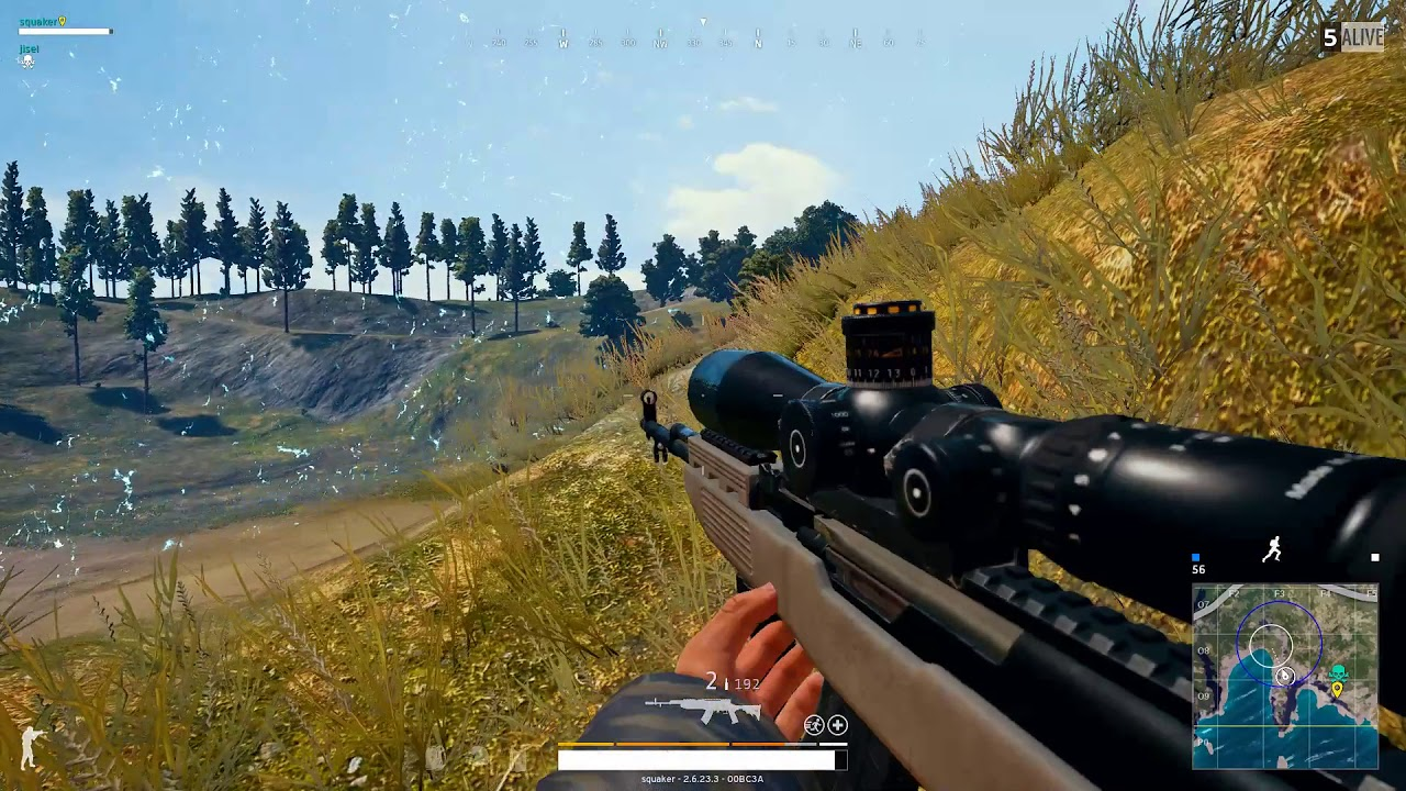 PUBG 15X SCOPE - Chicken Dinner - 8 Kills clutch - Random Duo