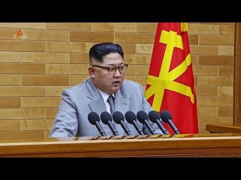 N.Korea reopens hotline, Trump claims bigger nuke button