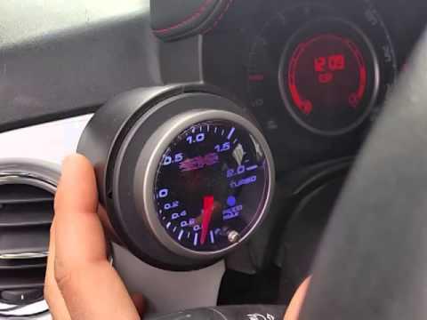 Strumentazione Protoxide Su Fiat 500 Abarth Youtube